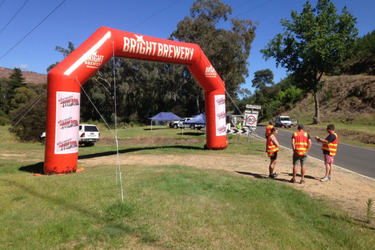 Bicycle Event Inflatable Finish Line Arch