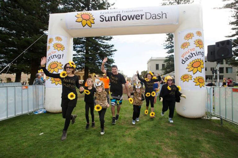 Custom Inflatable Arch For Sunflower Dash