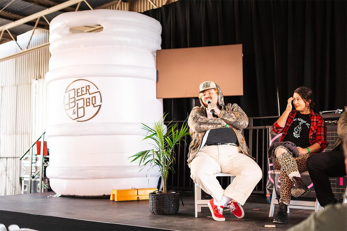 Large Inflatable Beer Keg Display