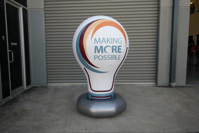 Light Globe Inflatable Replica