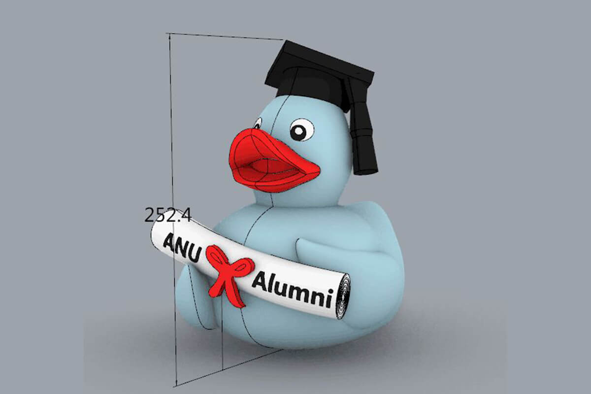 Inflatable Duck CAD