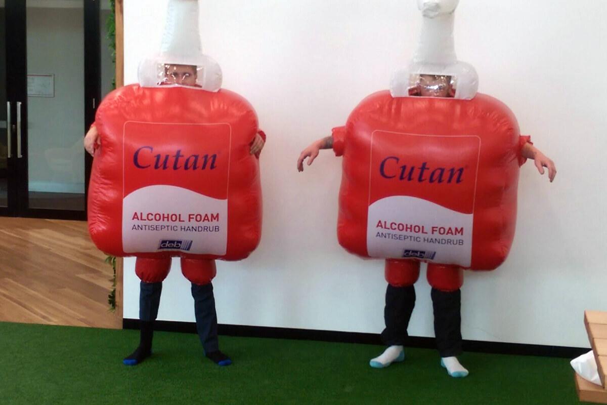 Wearable Custom Inflatable Costume