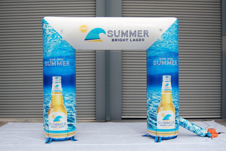 Inflatable Archway Summer Bright Lager