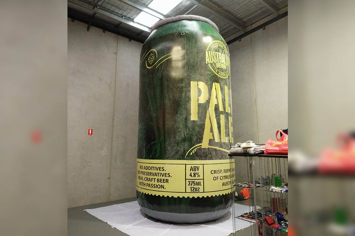 Pale Ale Custom Inflatable Can