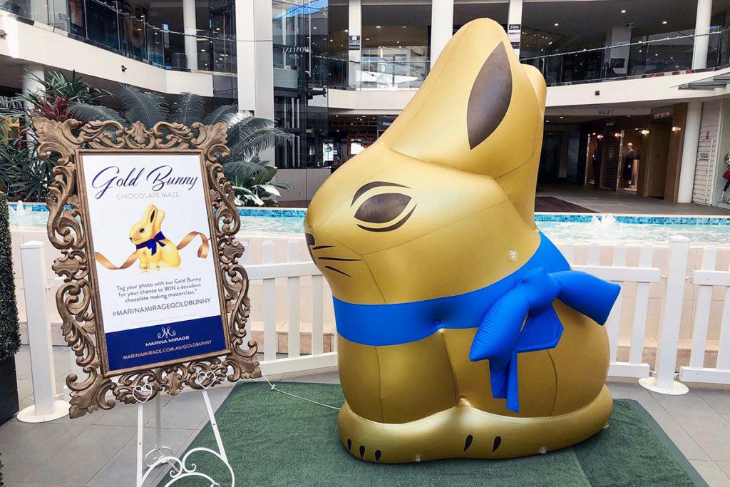 Giant Inflatable Bunny
