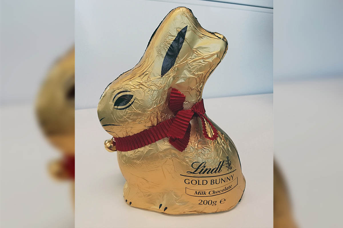 Lindt Bunny For Inflatable Replica