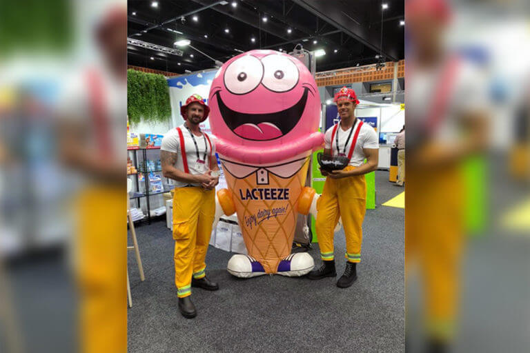 Trade Show Inflatable Mascot