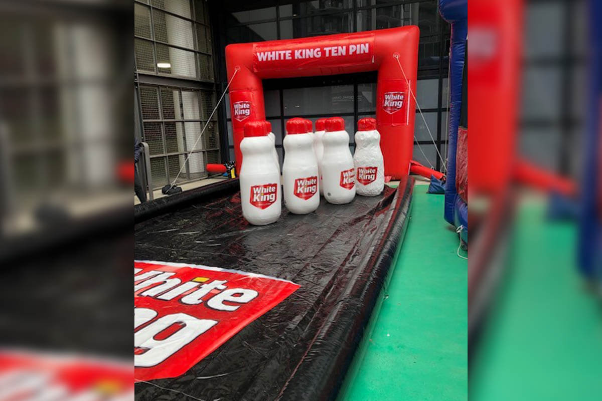 Custom Inflatable For AFL Activation