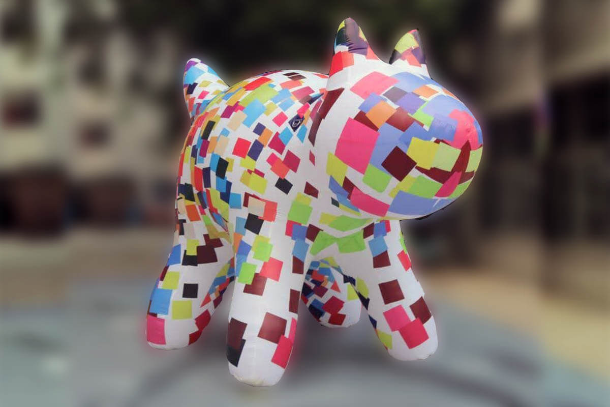 Customised Inflatable Camp Dog