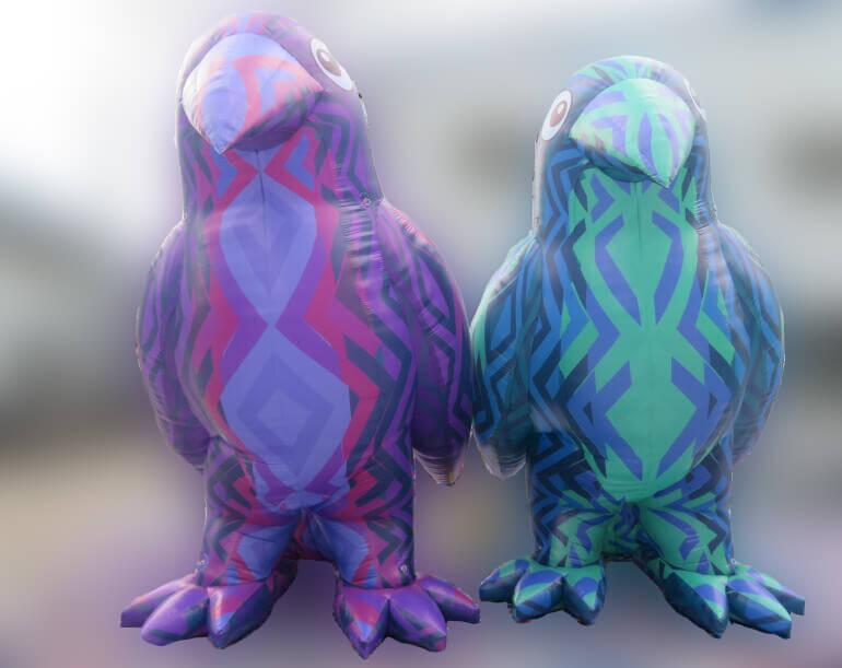 Inflatable Bird Waa the Protector