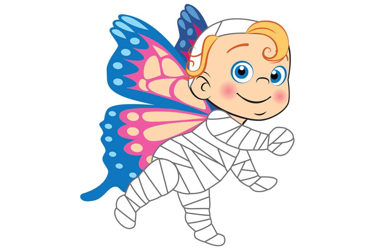 Inflatable Cartoon Character Original