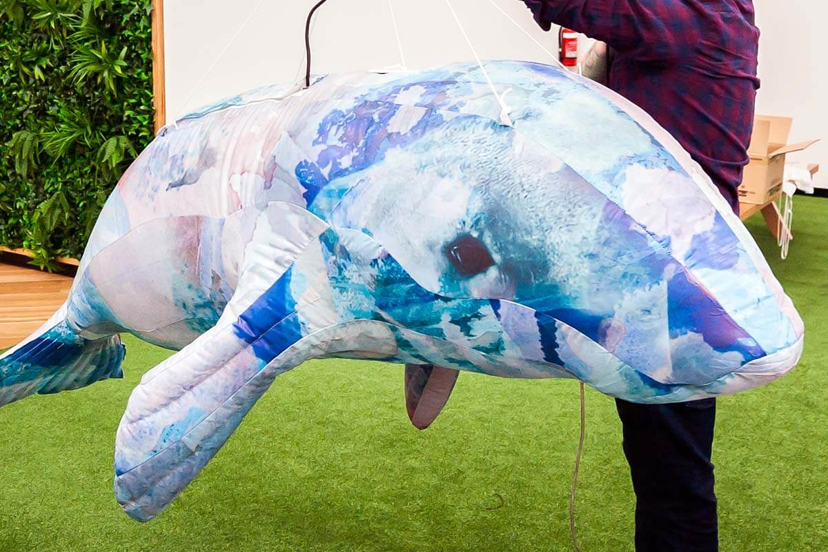Inflatable Dugong Test