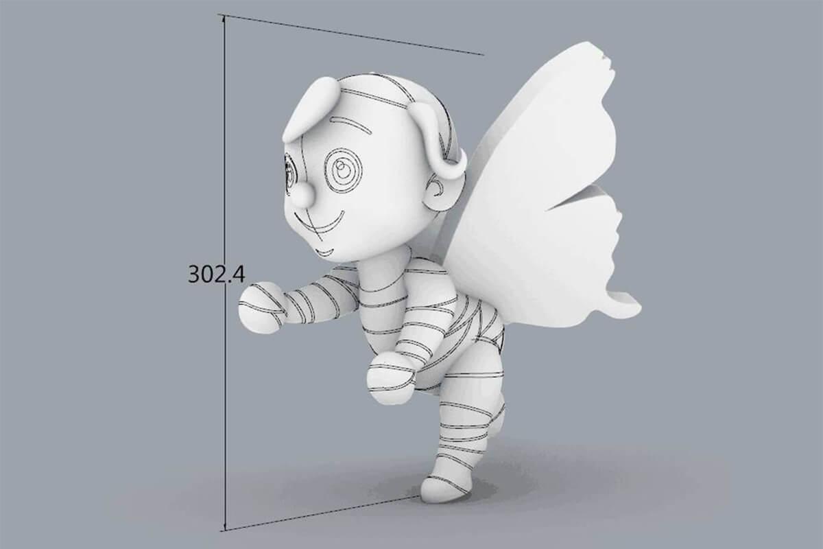 Life Size Mascot 2D