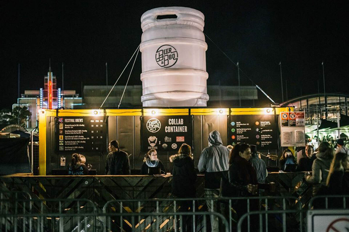 Beer & BBQ Festival Inflatable