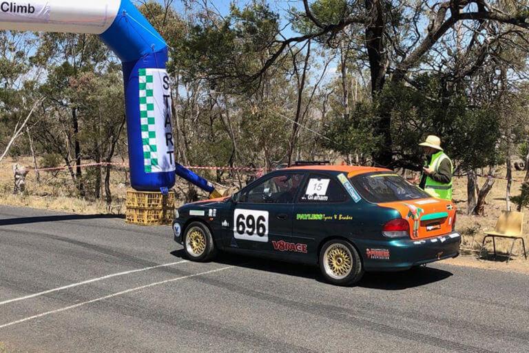 Cooma Motorfest Car Race Arch
