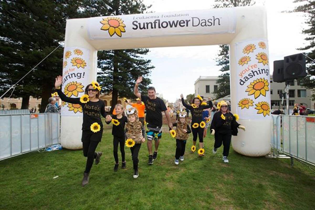 Sunflower Dash Fun Run Inflatable