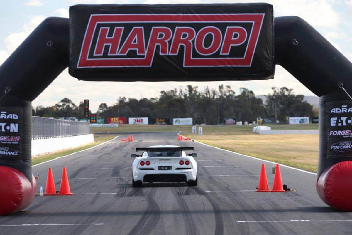 Harrop Inflatable Car Race Arch