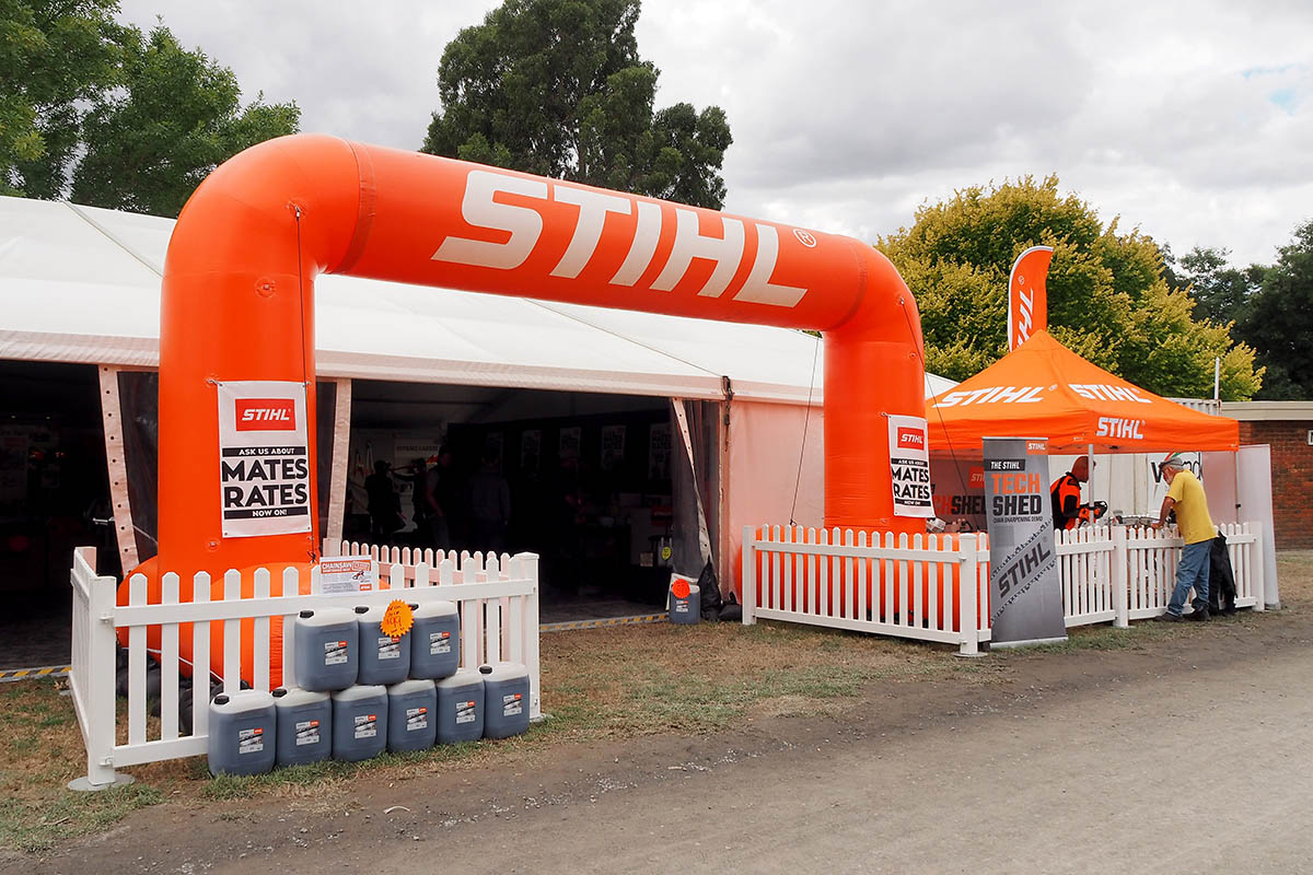 Stihl Field Day Inflatable