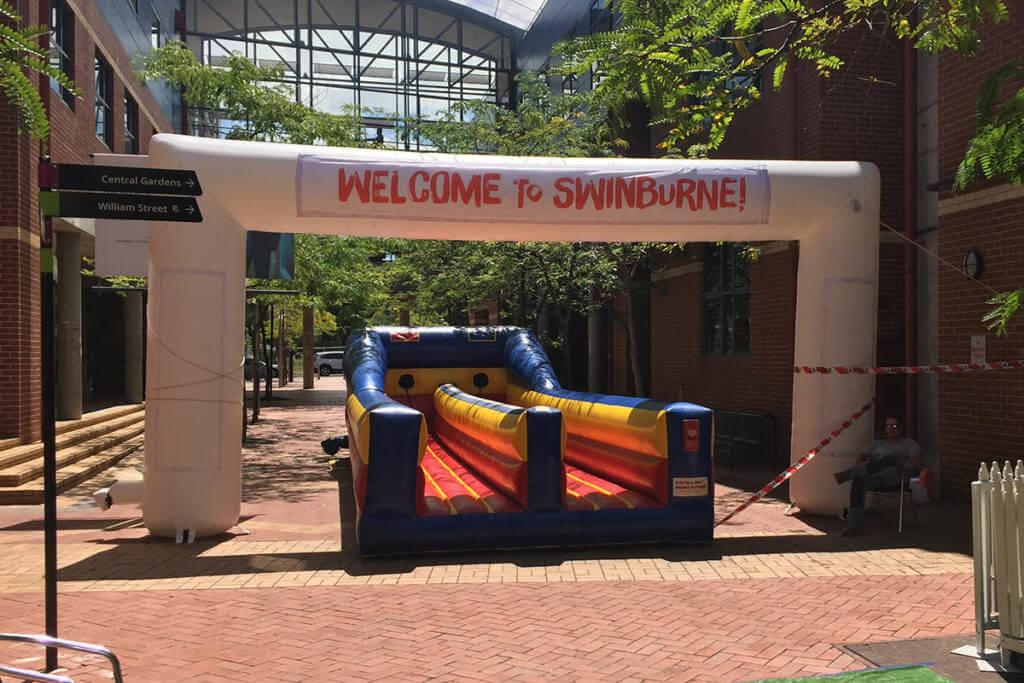 Swinburne University Inflatable Arch