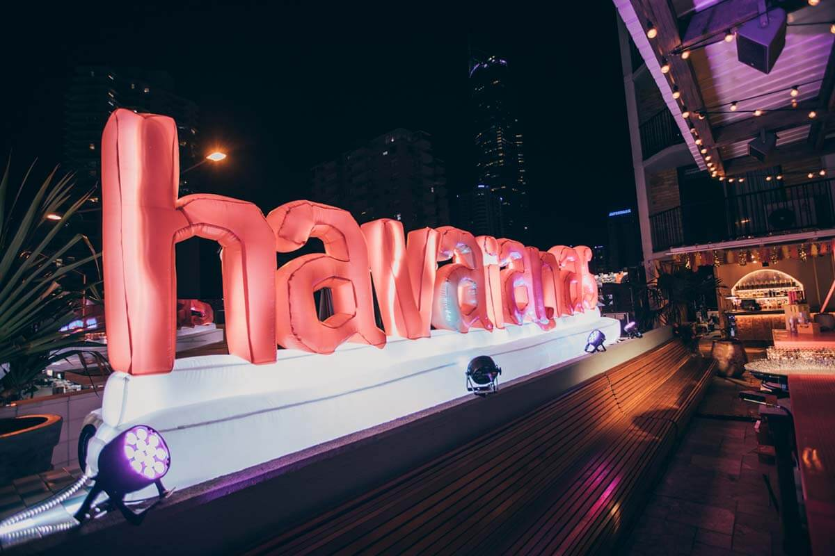 Inflatable Letters with lights