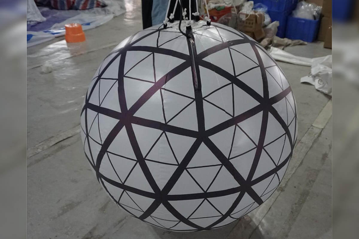 Finished Times Square Ball Event Inflatable