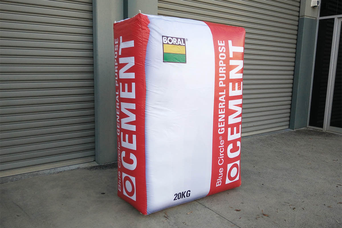 Finished Inflatable Cement Bag