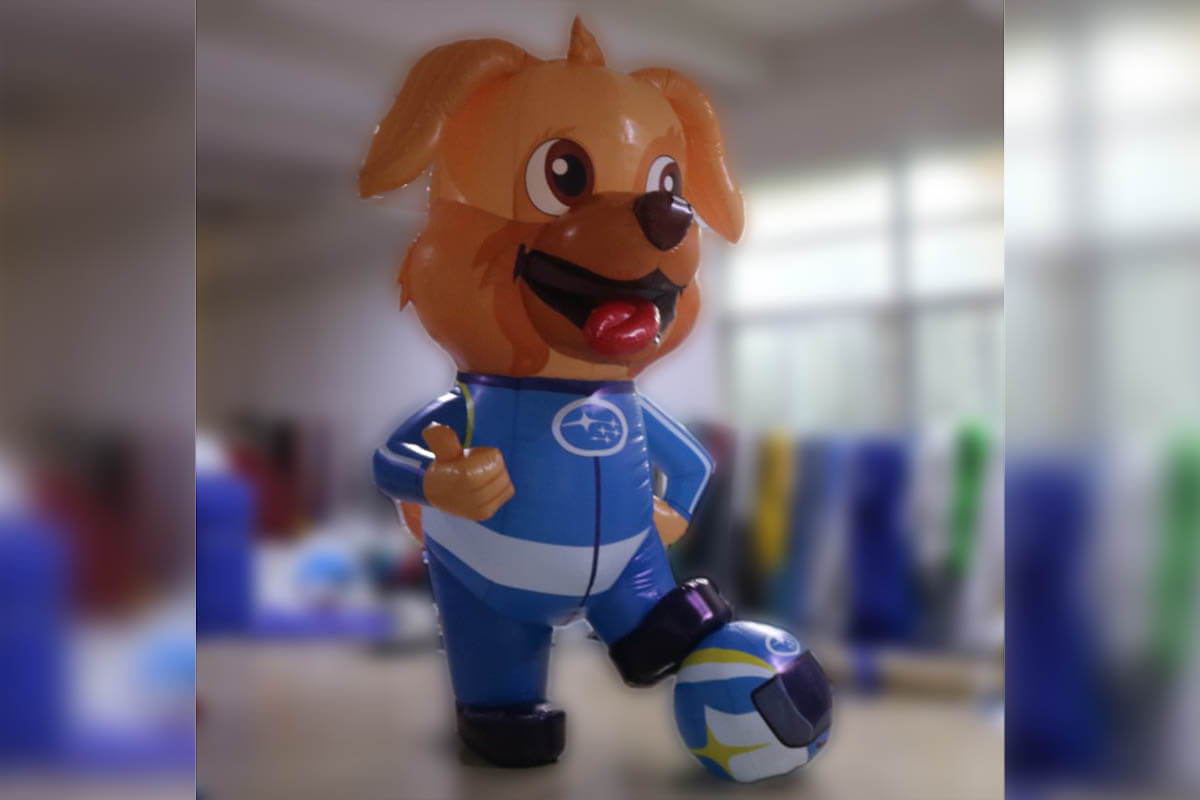 Finished Inflatable Dog Mascot