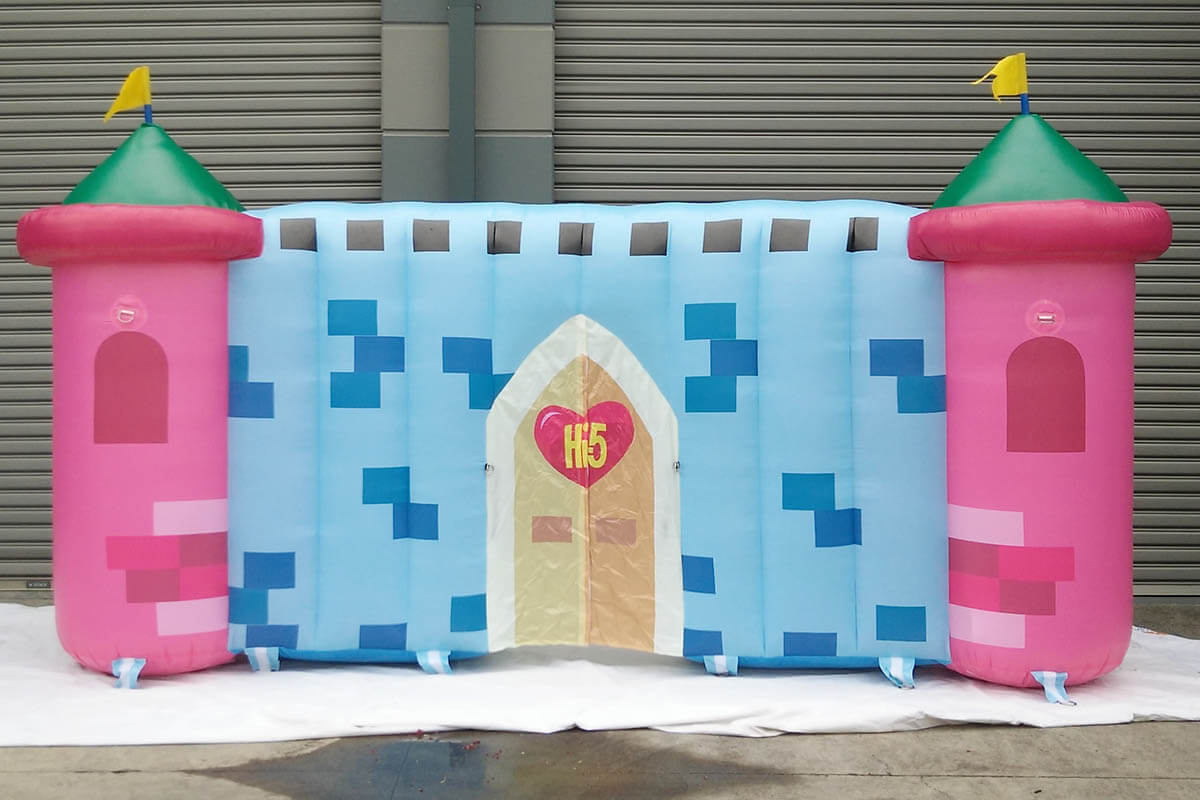 Inflatable Stage Wall Prop