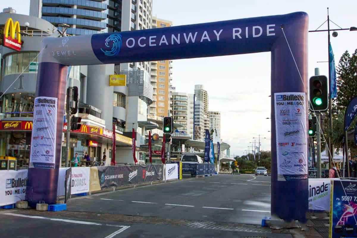 Oceanway Inflatable Start Finish Line Arch