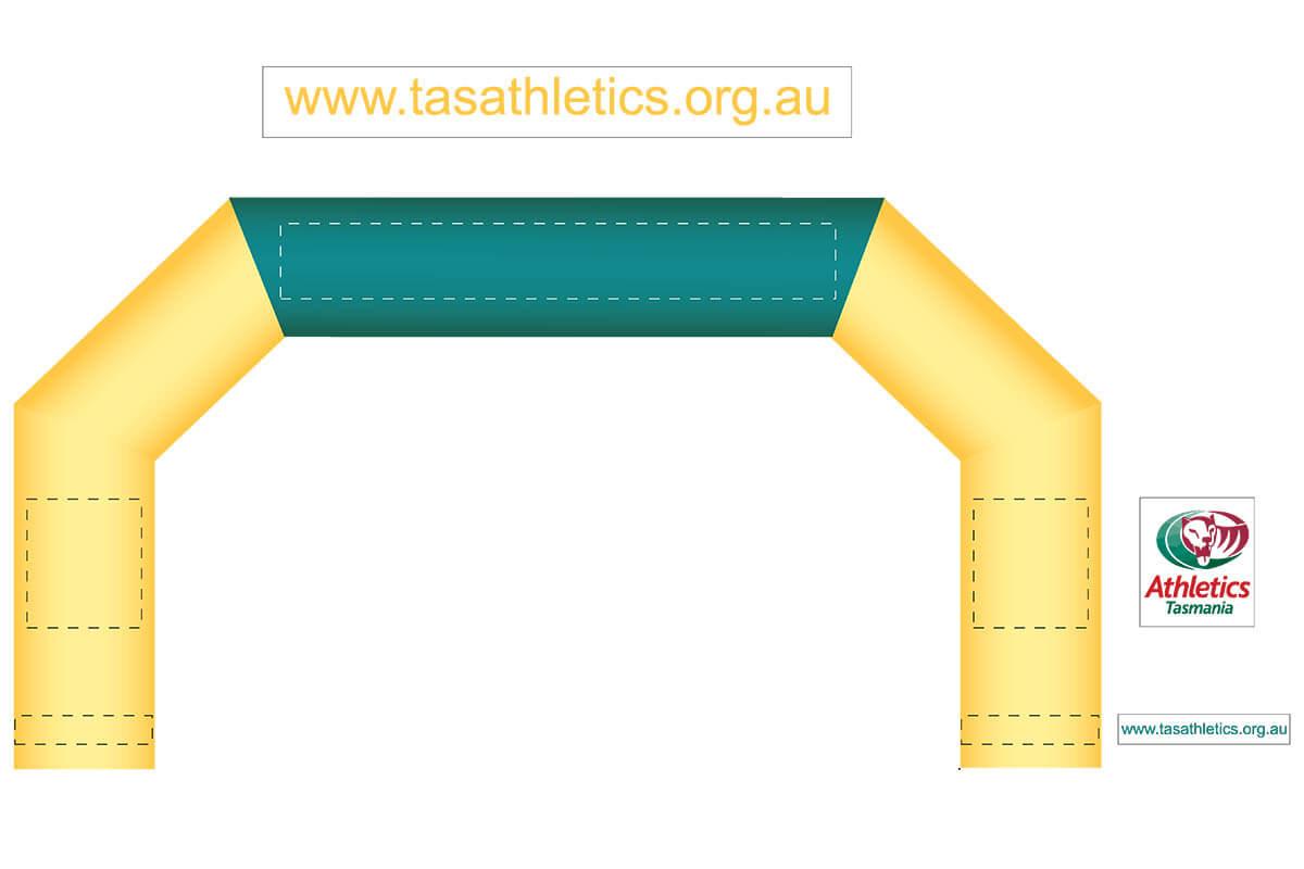 Tas Athletics Arch Mock Up