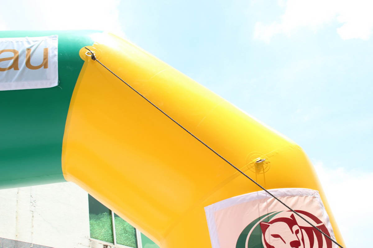 Tie Down Points On Inflatable Arch