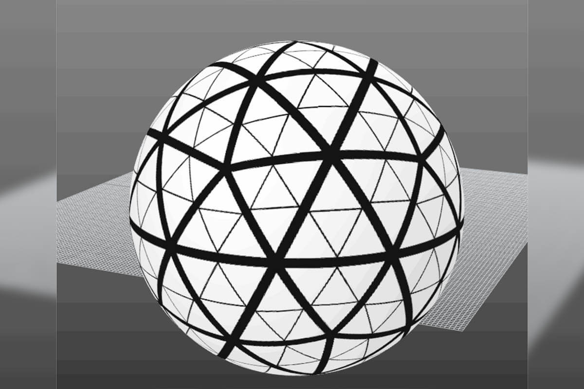 Times Square Ball Inflatable 3D