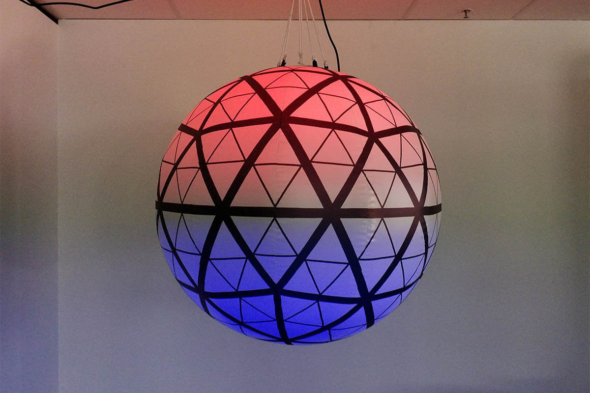 Times Square Ball Inflatable Working LED Lighting