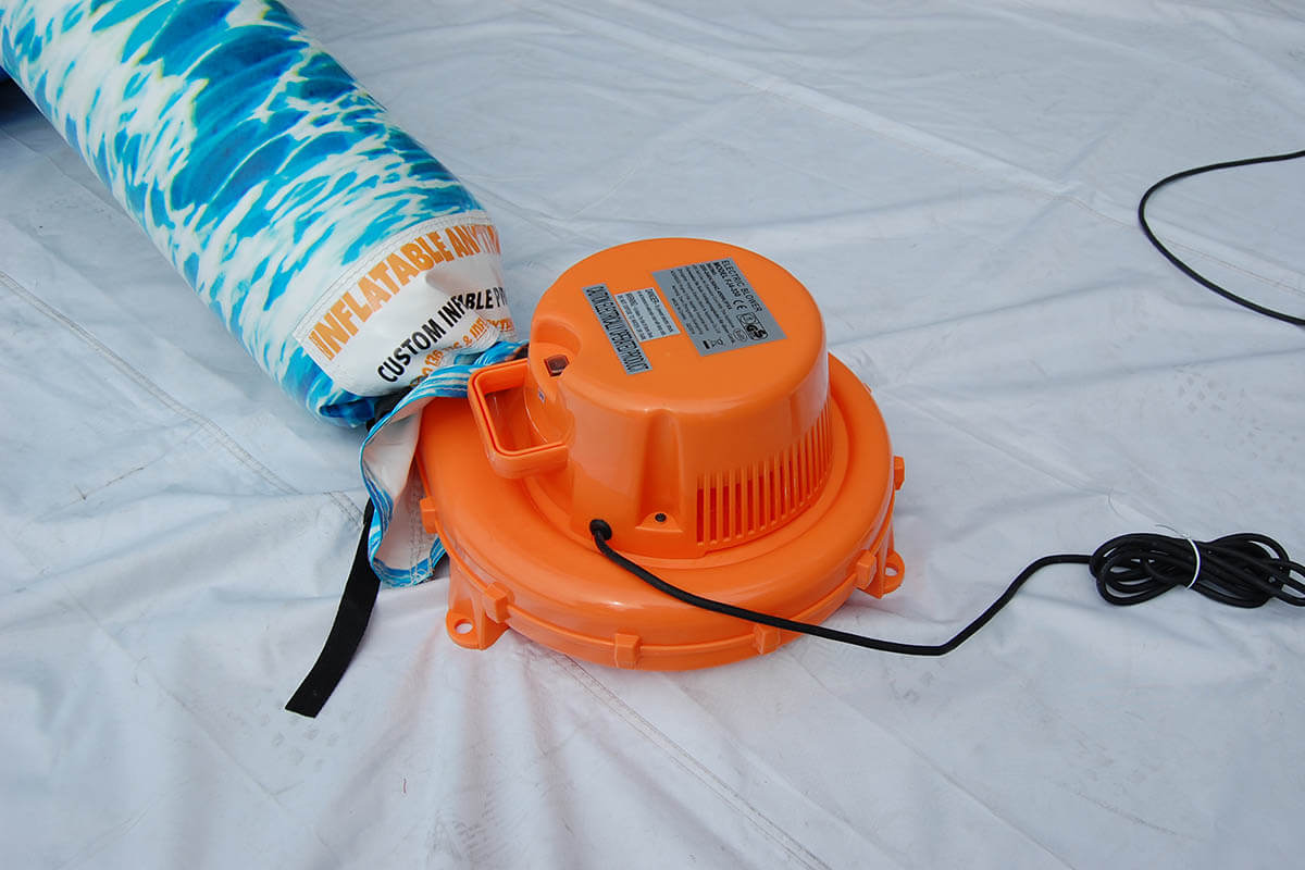 Blower For Constant Air Inflatable