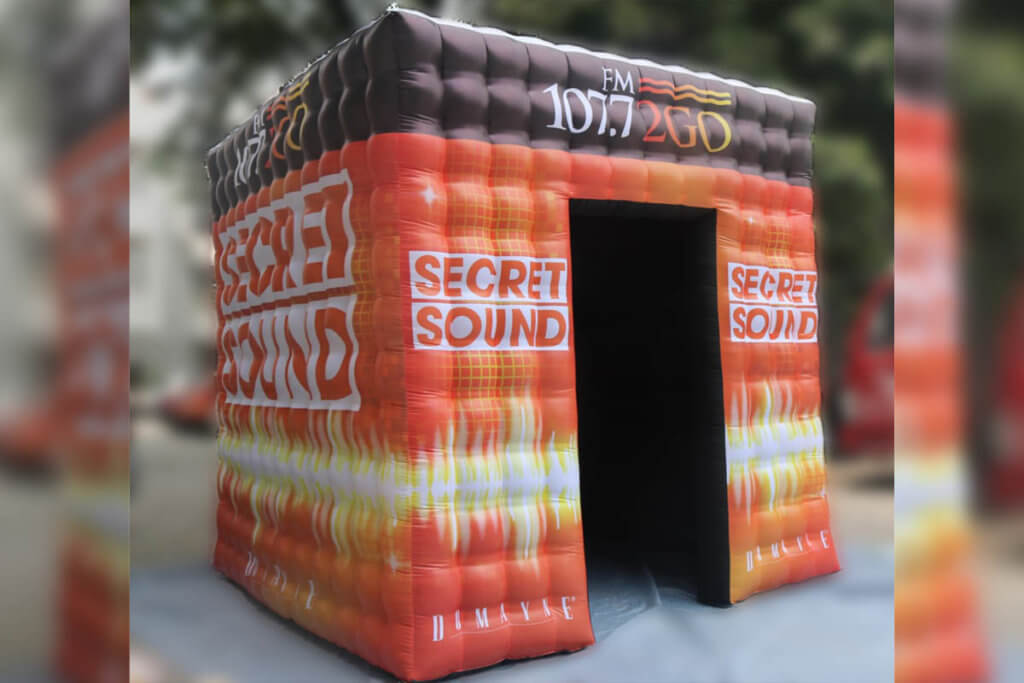 Finished Inflatable Booth