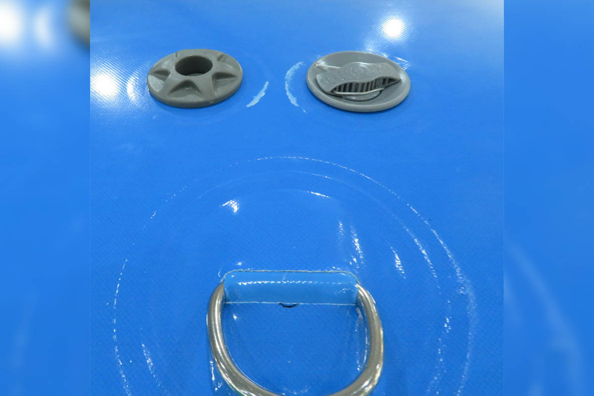 Valves On Sealed Air Inflatable