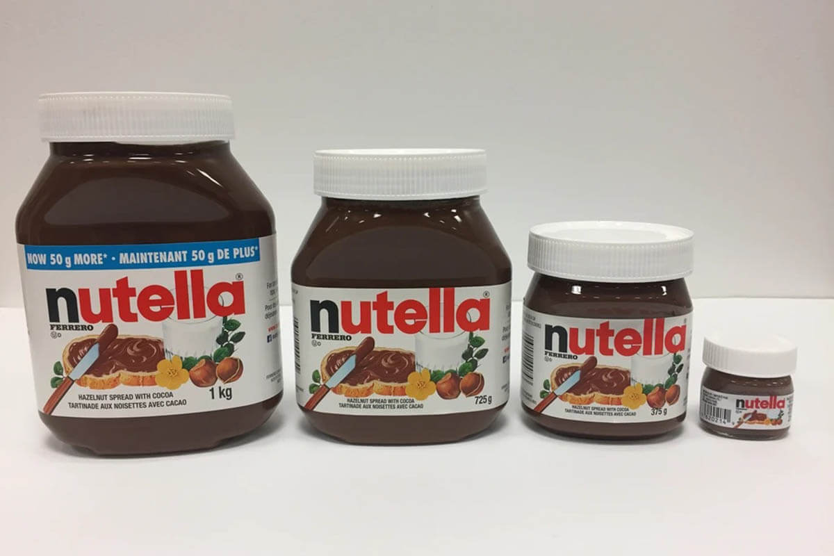 Real Nutella Jars