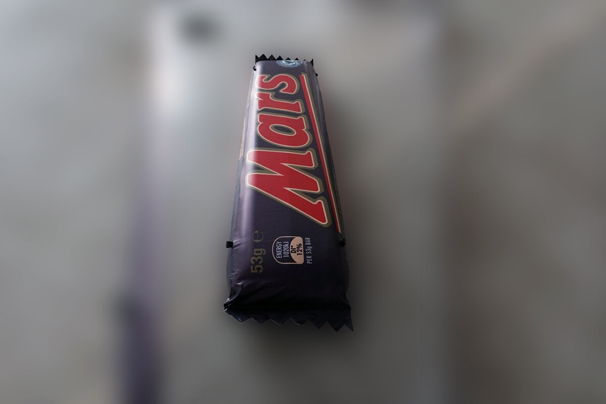 Advertising Inflatable Mars Bar Test