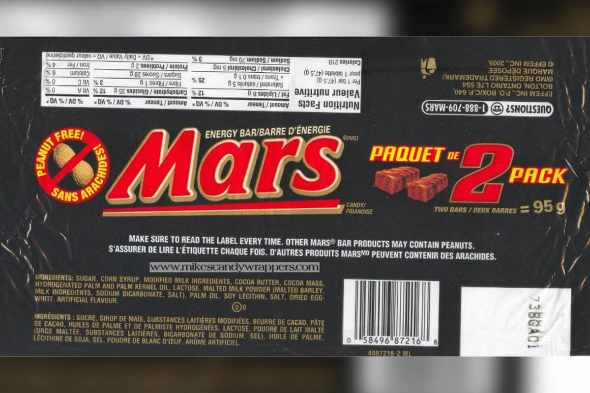 Advertising Inflatable Mars Bar Wrapper