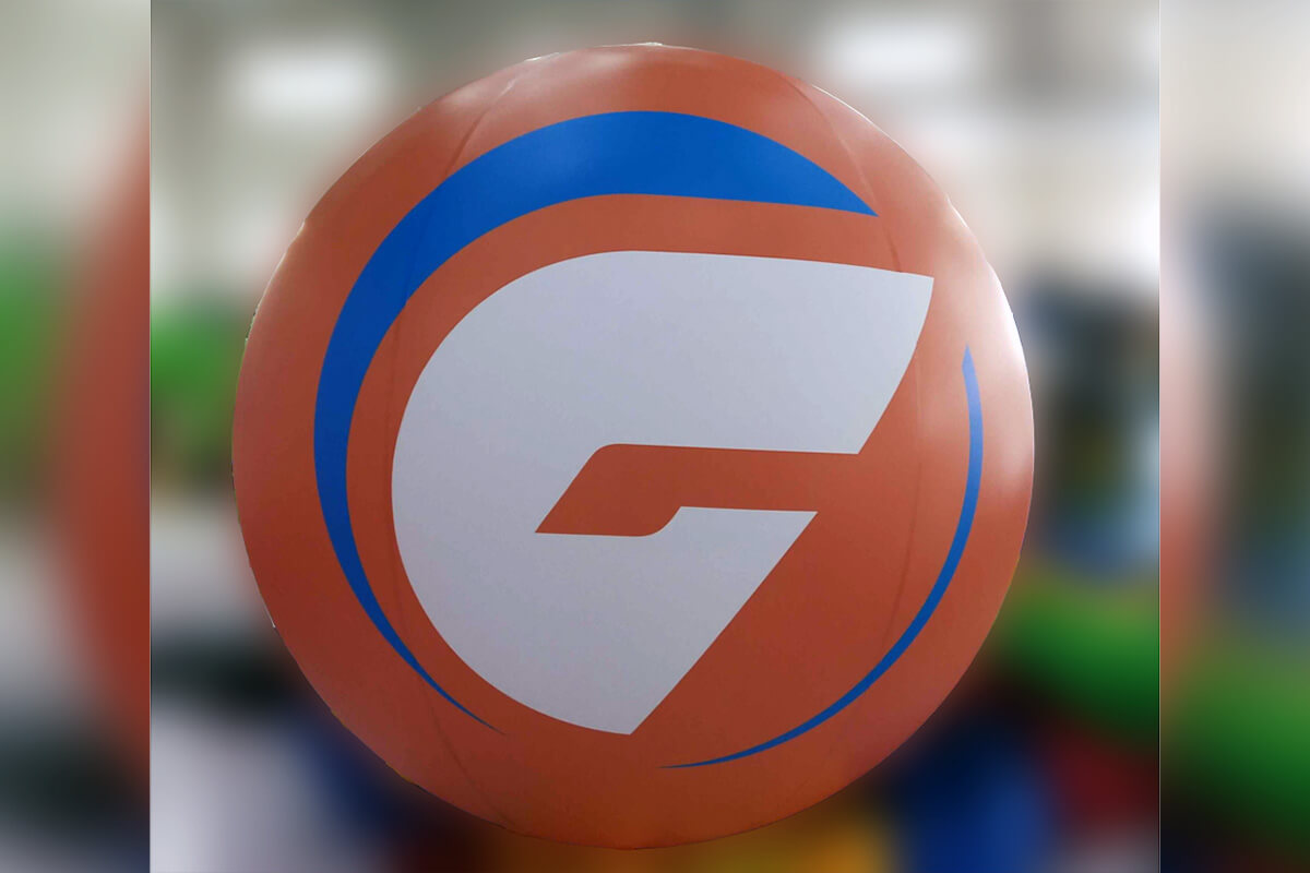 Giant Inflatable Balls Test
