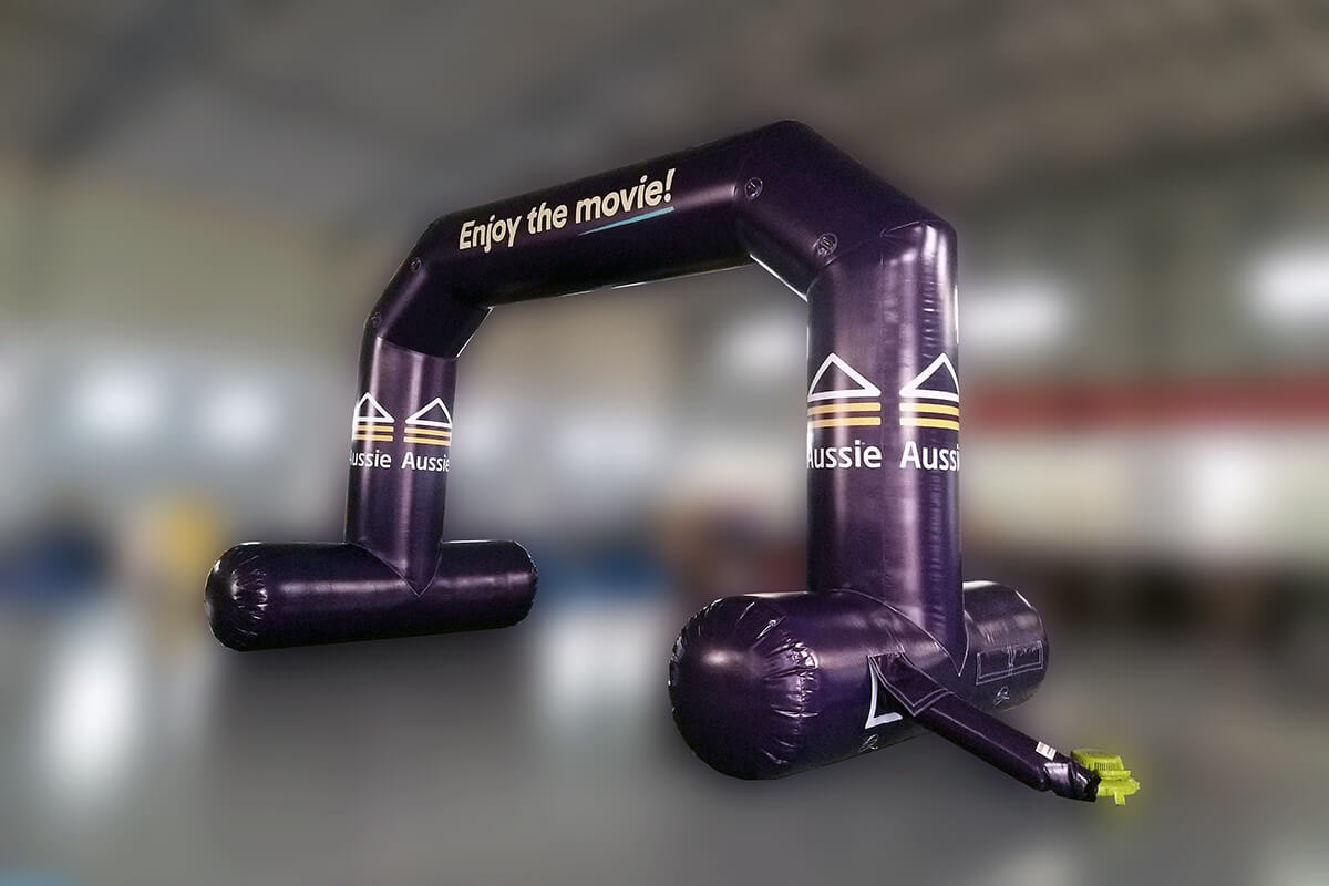 Inflatable Entry Archway Tested
