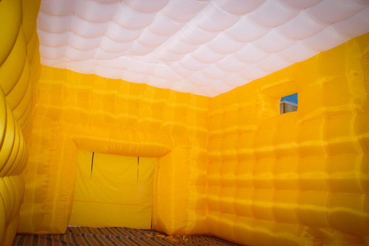 Custom Inflatable Cube Inside