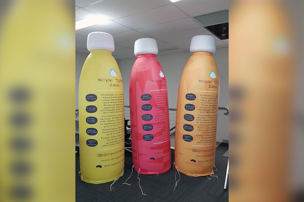 Jumbo Inflatable Bottles